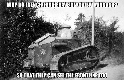 french tanks